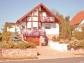 Sockel + Gartenmauer, Farbe 'Speyer', verlegt 2001, fotografiert 2012