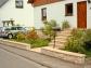 Mauer + Abdeckplatten + Treppe + Kellerfensterbank, Farbe 'Landau'